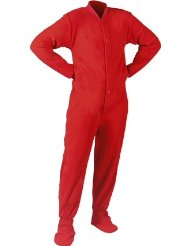 Micro-Polar Fleece Adult Footed Onesie Pajamas/100% micro-polar fleece/Durable, yet luxurious 230 weight, anti-pill fabric/Button up the front with non-slip soles/Customer Reviews 5.0 out of 5.0 stars.