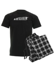 Silly Evolution Men's Dark Pajamas Men's Dark Pajamas:SIZES-Medium, Large, X-large.