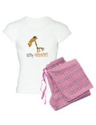 Silly Giraffe Women's Light Pajamas Women's Light Pajamas: Color: With Pink Pant .